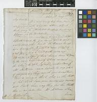 Letter from Alexander Caldcleugh to Sir William Jackson Hooker; from Coquimbo[?], Chile; 18 Jan 1834; two page letter comprising two images; folio 13