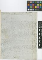 Letter from Robert H. Schomburgk to Sir William Jackson Hooker; from Macusi Village, Pirara, on the banks of Lake Amucu; 13 June 1838; four page letter comprising four images; folio 137