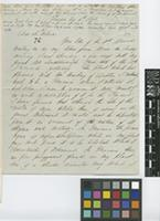 Letter from George Gardner to Sir William Jackson Hooker; from Glasgow; 16 Aug 1842; four page letter comprising three images; folio 76