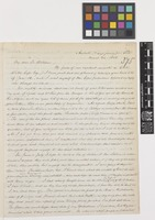 Letter from Richard Spruce to Sir William Jackson Hooker; from Ambato, near Quito, [Ecuador]; 24 Mar 1858; four page letter comprising four images; folio 375
