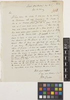 Letter from William Oakes to Sir William Jackson Hooker; from Ipswich, near Boston, [United States of America]; 15 Apr 1841; one page letter comprising one image; folio 350