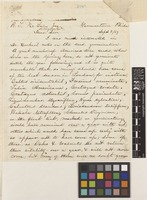 Letter from Thomas Meehan to R.T. McLain; from Germantown, Philadelphia, [United States of America]; 3 Sep 1869; two page letter comprising two images; folio 478