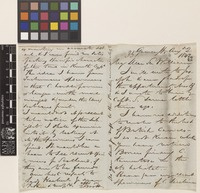 Letter from F.[Francis] Boott to Sir William Jackson Hooker; from Gower Street, [London, England]; 2 Aug 1842; four page letter comprising two images; folio 35