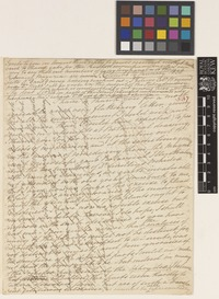 Letter from Mrs A.M.[Anna Maria] Walker to [Sir William Jackson Hooker]; from Colombo, [Sri-Lanka ex Ceylon]; 14 Jan 1838; four page letter comprising four images; folio 537