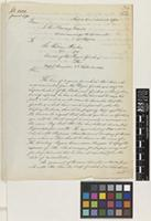 Letter from L.B.[Lewin Bentham] Bowring to Sir William Jackson Hooker; from Mysore Commissioner's Office, [India]; 8 Sep 1863; two page letter comprising two images; folio 34