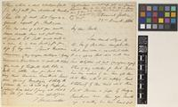 Letter from T.[Thomas] Anderson to Sir Joseph Dalton Hooker; from Botanical Gardens, [Kolkata ex-Calcutta, India]; 22 Dec 1866; four page letter comprising two images; folio 93
