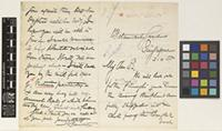 Letter from N.[Nathaniel] Cantley to the Royal Botanic Gardens, Kew; from Botanical Gardens, Singapore; 3 Apr 1885; four page letter comprising two images; folio 401
