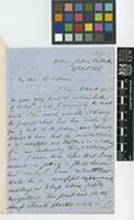 Letter from Thomas Thomson to Sir William Jackson Hooker; from Botanic Garden, Calcutta [Kolkata, India]; 24 Oct 1856; four page letter comprising four images; folio 317
