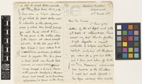 Letter from R.L.[Robert Louis] Proudlock to Daniel Morris; from Botanic Gardens, Ootacamund [Udagamandalam, India]; 2 Mar 1897; eight page letter comprising four images; folios 557 - 558