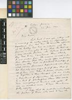 Letter from W.[William] Fawcett to Daniel Morris; from Cinchona, Jamaica; 24 June 1892; three page letter comprising three images; folios 364 - 365