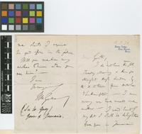 Letter from Sir William Grey to Grote; from Bohun Lodge, East Barnet, Hertfordshire, [England]; 15 Mar 1874; four page letter comprising two images; folio 512