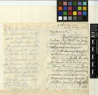 Letter from C. J. Whitington to Sir William Jackson Hooker; from 7 Old Jewry, London; 20 Sep 1858; three page letter comprising two images; folio 619