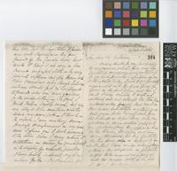 Letter from W. March to Sir William Jackson Hooker; from Spanish Town, [Jamaica]; 19 Apr 1861; four page letter comprising two images; folio 304