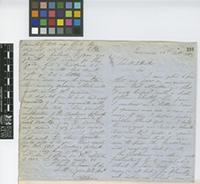 Letter from Nathaniel Wilson to Sir William Jackson Hooker; from Jamaica; 22 Oct 1861; four page letter comprising two images; folio 398