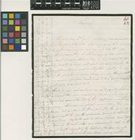 Letter from Alexander Cruckshanks to Sir William Jackson Hooker; from Edinburgh; 13 Feb 1831; four page letter comprising four images; folio 40
