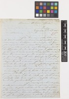Letter from J.Paul Lebadie[?] to Sir William Jackson Hooker; from Valparaiso, [Chile]; 25 Sep 1850; two page letter comprising two images; folio 25