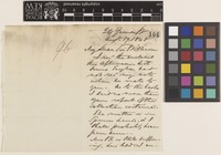 Letter from F.[Francis] Boott to Sir William Jackson Hooker; from 24 Gower Street, [London,England]; 17 Aug 1848; two page letter comprising two images; folio 96