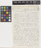 Letter from G.[George] Engelmann to Sir Joseph Dalton Hooker; from Cambridge, [United States of America]; 19 Aug 1879; six page letter comprising six images; folios 162 - 165