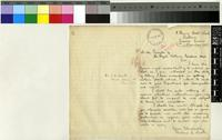 Letter from Arthur E. Scott to the Royal Botanic gardens, Kew; from Freetown, Sierra Leone; 11 Nov 1905; one page letter comprising one image; folio 42