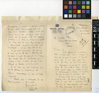 Letter from C. W. von Hurschberg to Sir Arthur William Hill; from Elisabethville, Belgian Congo; 8 May 1928; two page letter comprising one image; folio 196