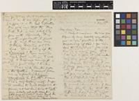 Letter and photograph from Henry Trimen to Sir William Thiselton-Dyer; from Peradeniya, [Sri Lanka ex-Ceylon]; 3 Jan 1886; six page letter comprising four images; folio 377