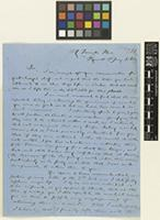 Letter from N.[Nicholas] Loney to Sir William Jackson Hooker; from 27 Torrington Place, Plymouth, [England]; 5 Jan 1862; four page letter comprising four images; folio 211