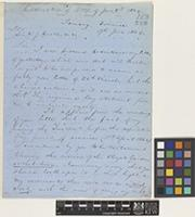 Letter from Richard Oldham to Sir William Jackson Hooker; from Tamsuy, Formosa [Tan-Shui, Taiwan]; 9 June 1864; twelve page letter comprising twelve images; folio 163