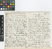 Letter from N.[Nathaniel] Wallich to Sir William Jackson Hooker; from 5 Upper Gower Street, [London]; 28 Feb 1853; five page letter comprising three images; folio 398