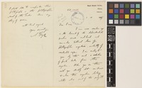 Letter from A.T.[Andrew Thomas] Gage to Sir David Prain; from Royal Botanic Garden, Sibpur, Calcutta [Shibpur, Kolkata, India]; 1 Sep 1907; four page letter comprising two images; folio 114