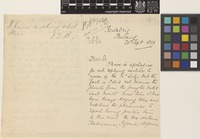 Letter from Theophilus A.[Arthur] Wooldridge to John Gilbert Baker; from Restalrig, Penang, [Malaysia]; 20 Sep 1893; three page letter comprising two images; folio 234