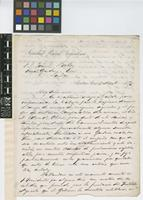 Letter from the General Manager of the Sociedad Rural Argentina to Sir Joseph Dalton Hooker; from Sociedad Rural Argentina, Buenos Aires; 8 Nov 1870; two page letter comprising two images; folio 63