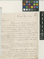 Letter from Alexander Cruckshanks to Sir William Jackson Hooker; from Edinburgh; 1 Dec 1830; four page letter comprising three images; folio 31