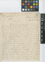 Letter from Thomas Bridges to Sir William Jackson Hooker; from Santiago, Chile; 3 Sep 1832; two page letter comprising two images; folio 5
