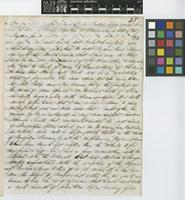 Letter from George Gardner to Sir William Jackson Hooker; from aboard H.M. Packet Opossum between Bahia and Pernambuco; 6 Oct 1837; six page letter comprising six images; folio 35
