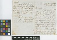 Letter from George Gardner to Sir William Jackson Hooker; from Mornington Place; 1 Feb 1842; four page letter comprising two images; folio 68