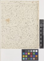 Letter from Francis Boott to Sir William Jackson Hooker; from Hotel du Nord[?], Rue de Richelieu, Paris, [France]; 20 Nov 1818; four page letter comprising four images; folio 28