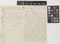 Letter from John Imray to Sir William Jackson Hooker; from Dominica; 1 May 1855; four page letter comprising two images; folio 154