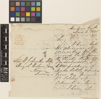 Letter from George Roberts to Sir William Jackson Hooker; from Hudson's Bay House, [England]; 6 June 1845; three page letter comprising two images; folio 402