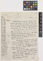 Letter from David Ross McCord to Sir David Prain; from The McCord National Museum, Temple Grove, Montreal, [Canada]; 7 Feb 1912; two page letter comprising two images; folio 97