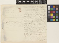Letter from Gavin Watson to Sir William Jackson Hooker; from Philadelphia, [United States of America]; 9 May 1855; four page letter comprising two images; folio 418