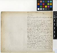 Letter from João Cardoso Junior to Sir Joseph Dalton Hooker; from Saint Antonio, Cape Verde; 9 Mar 1895; Three page letter comprising two images; Folio 20
