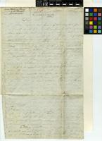 Letter from L. Mund to Sir William Jackson Hooker; from Swellandam, South Africa; 18 May 1829; four page letter comprising four images; folio 208