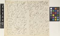 Letter from G.[George] King to Sir Joseph Dalton Hooker; from Botanic Garden Calcutta [Kolkata, India]; 2 Feb 1872; eighteen page letter comprising ten images; folios 245 - 249