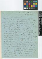 Letter from G.H.K.[George Henry Kendrick] Thwaites to Sir William Jackson Hooker; from Peradenia, Ceylon [Peradeniya, Sri Lanka]; 28 Feb 1855; four page letter comprising four images; folio 359