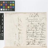 Letter from N.[Nathaniel] Wallich to Sir William Jackson Hooker; from 5 Upper Gower Street, [London]; 11 Aug 1853; four page letter comprising two images; folio 440