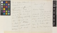 Letter from M.E.[Mountstuart Elphinstone] Grant Duff to Sir William Thiselton-Dyer; from Government House, [India]; 22 Aug 1883; eight page letter comprising four images; folios 293 - 294