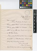 Letter from John C.[Christopher] Willis to Sir Arthur William Hill; from Jardim Botanico, Rio de Janeiro [Brazil]; 5 Feb 1914; one page letter comprising one images; folio 171