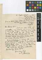 Letter from W.E.[Walter Elias] Broadway to Sir Arthur William Hill; from 31 Carlos Street, Port of Spain, Trinidad, B.W.I. [British West Indies]; 5 Sep 1927; one page letter comprising one image; folio 311