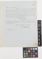 Letter from George Thomas Davy to Sir William Jackson Hooker; from 10 Sussex Square, [Hyde Park, London, England]; 10 July 1851; three page letter comprising three images; folio 106