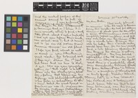 Letter from W.[William] Archer to Sir Joseph Dalton Hooker; from Tasmania, [Australia]; 22 Nov 1864; four page letter comprising two images; folio 39